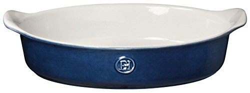 Emile Henry 559028 HR Ceramic Small oval baker, Twilight
