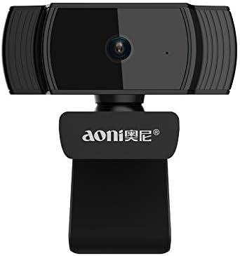 Elikliv Aoni Webcam HD 1080P 30FPS Auto Focus: Amazon.es: Electrónica