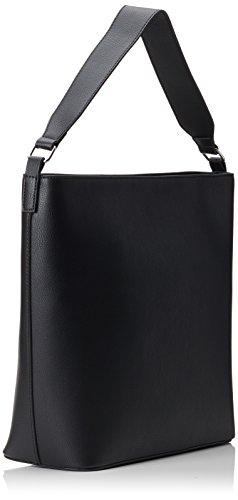 PIECES Damen Pcdemi Bag Schultertasche, Schwarz (Black), 12x40x36 cm