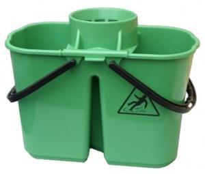 Mop Bucket Duo Hygiene 15ltr Green Janilec