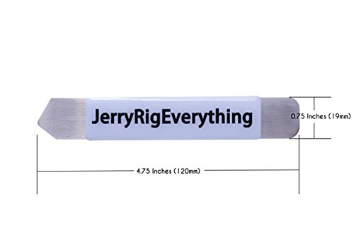 JerryRigEverything Metal Pry Tool, Spudger, Cell Phone Repair Professional