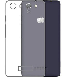 designer fashion 50207 305aa SDO Dotted Finish Ultra Thin Silicone Soft Case Back Cover for Micromax  Unite 3 Q372 - Transparent