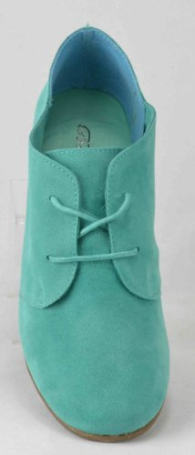 Breckelle Sandy-31s, Designer Carino Look Oxford Flat Mint