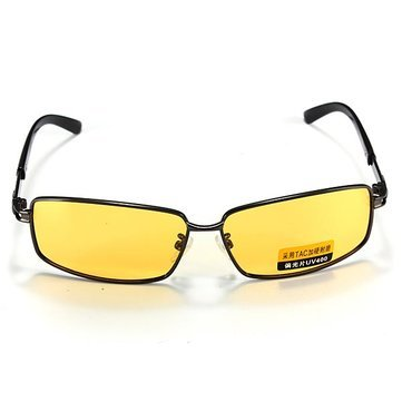 75d1530c93 Image Unavailable. Image not available for. Colour  Generic Polarized UV400 Night  Vision Driving Men s Eyewear ...
