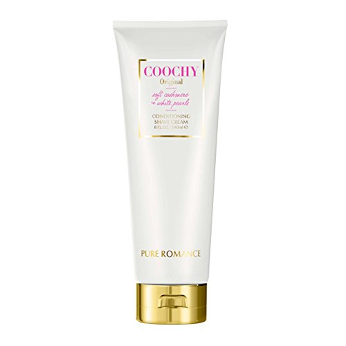 Moisturizing Bikini Cream (Coochy Conditioning Shave Cream Original, Remove Bikini Area Bumps, Great for Sensitive Skin, Soothes Skin by Pure Romance)