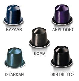 Nespresso OriginalLine: 50 Kazaar Dharkan Combo (Kazaar Nespresso Pods)