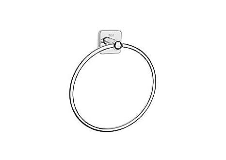 Roca A816659001 Toallero de anilla (Posibilidad de instalación mediante tornillería o adhesivo) Cromado: Amazon.es: Bricolaje y herramientas