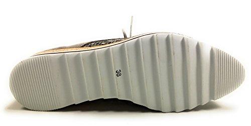 Dorking 7152 Chaussures Ville ma Gris Femme De Semelle Non Gris Derbies Amovible rfwrd