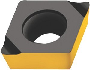CPGT050202-X5 WAK15 7/32'' Size 05 CVD Carbide Drilling and Boring Insert, (Package of 10)