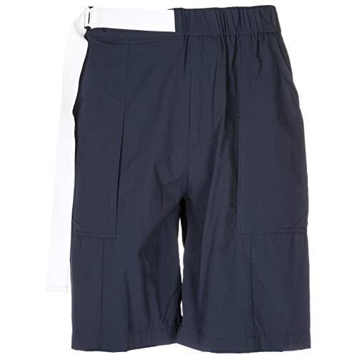 Navy Blu Cortos Armani Emporio Pantalones Hombre U8WczO