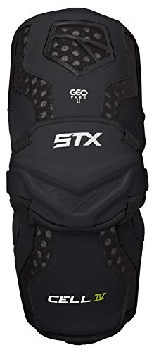 STX Lacrosse Cell 4 Arm Guards, White, Small