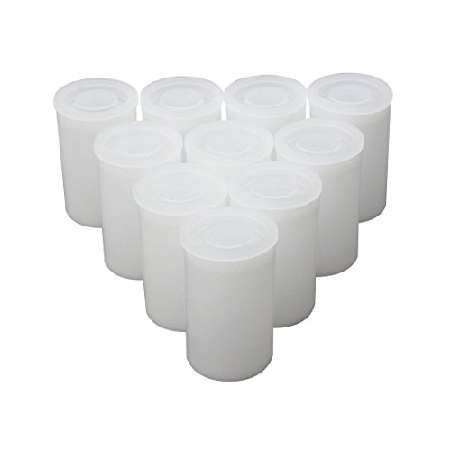 r with Lids, Pack of 10 (White) ()