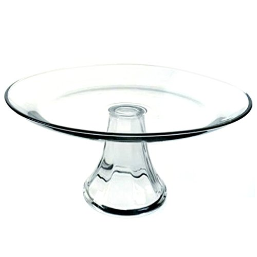 Anchor Hocking 10-Inch Tiered Cake Plate