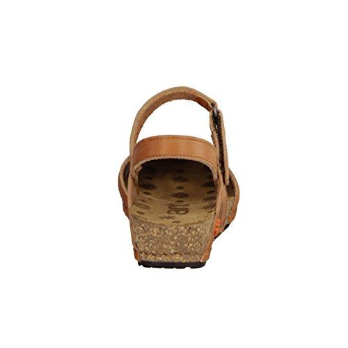 nbsp; Braun Sling Tinted Art Sandalette Damenschuhe nbsp; mojave 0739 Leder Pompei XHq0f
