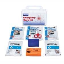 Service Burn Food Kit (Honeywell (019728-0015L) Food Service Burn Kit with Water-Jel Dressings, Plastic)