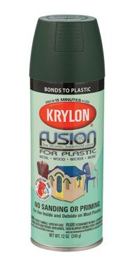 (12 Oz Satin Hunter Green Fusion for Plastic® Spray Paint [Set of 6])