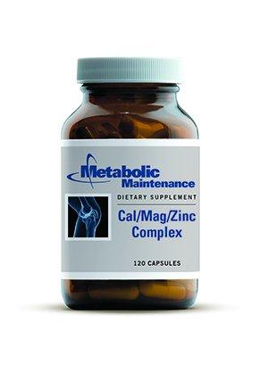 Entretien métabolique - Cal / Mag / Complexe Zinc w / vitamine D 120caps