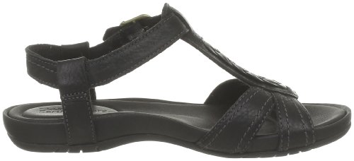 Timberland - Sandalias de cuero para mujer Negro (Noir (Black))