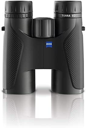 Zeiss Terra ED 10×42 Binoculars for Hunting, Birdwatching, Outdoor, Traveling, Black
