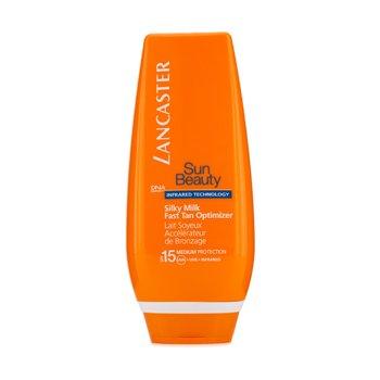 Sun Care - Face-Sun Beauty Silky Milk Fast Tan Optimizer Spf 15 (Face &Amp; Body)-125ml/4.2oz ()