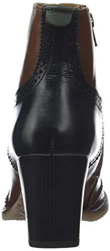 Misty Femme Noir bordeaux Marron Rouge Kickers 183 Botines FaWqnR
