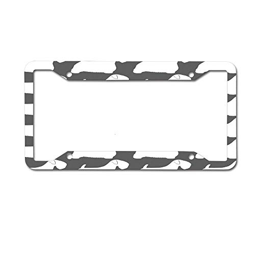 HappyToiletLidCoverX Sealyham Terrier Silhouette(s) Personalized License Plate Made of Aluminum 4 Holes