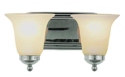 Trans Globe Lighting 3502 ROB 2-Light Bath Bar, Rubbed Oil Bronze by Trans Globe Lighting