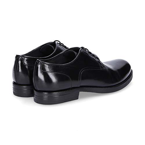 Chaussures Pantanetti Noir Cuir Homme Lacets 10912black À 4qqr6I