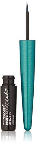 Maybelline New York Master Precise Ink Metallic Liquid Liner, Teal Galaxy, 0.06 Fluid Ounce