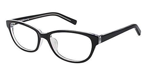 211 Eyeglasses - Visions 211A Eyeglass Frames - Frame Black, Size 53/16mm
