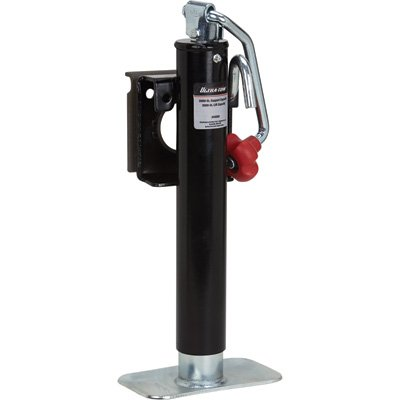 Ultra-Tow Snap Ring Top-Wind Swivel Jack - 2,000lb. Lift Capacity ()