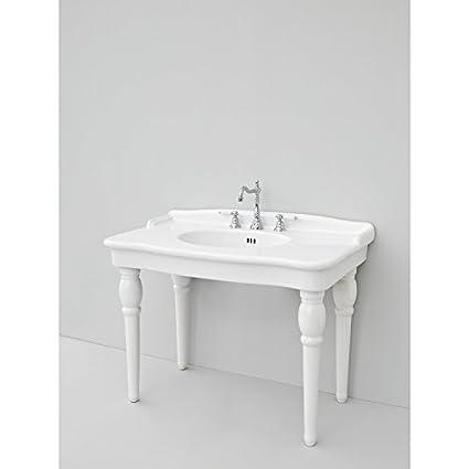 Lavabo A Consolle In Ceramica.Lavandino Lavabo Design Hermitage Consolle In Ceramica 2 Misure