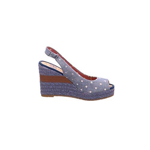 con mujer azules NAPAPIJRI moda Sandalias lunares para de wqw7UxBz