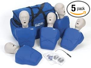 34f103a8a5a Image Unavailable. Image not available for. Color: CPR Prompt (5 Pack) BLUE  Adult/Child Manikins ...