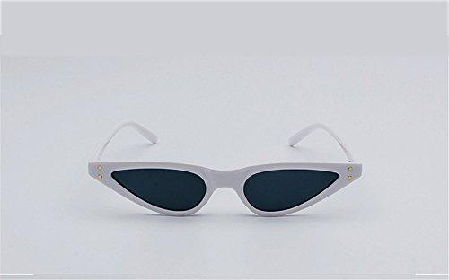 voyager DESESHENME Côté lentilles Lunettes Vintage noir Hommes Maison Sunglass Retro Designer blanc de pour Femmes soleil de qprqR7