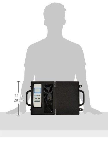General Tools DAF80PW Digital Plastic Vane Anemometer General Tools /& Instruments