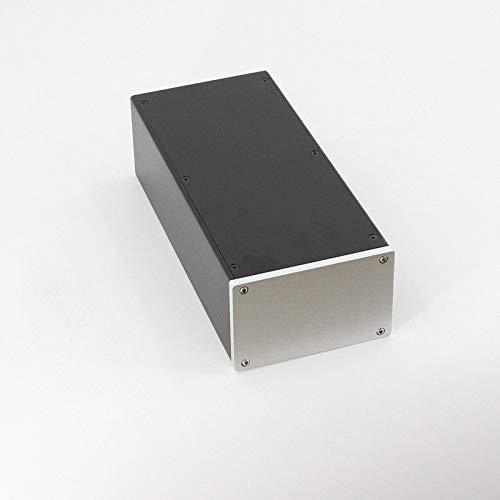 FidgetFidget case Power Amplifier Box Blank Aluminum Enclosurechassis 145x90x311mm WxHxD