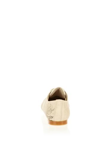 Material Sintético Cute Cordones Para De Beige Mujer Paws Zapatos wFSqFpHT