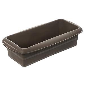 Lurch 85010 - Molde Alargado Flexible para Pan, 30 centímetros, Color marrón