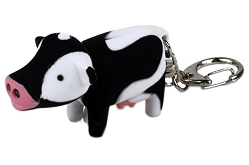 Cow Keychain Led Light - 5