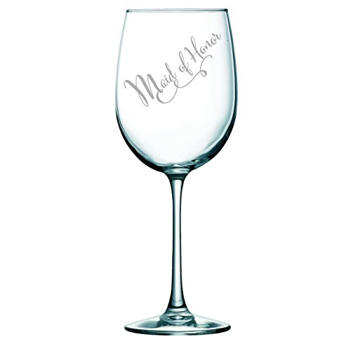 Honor Glass - Maid of Honor wine glass, 19 oz.