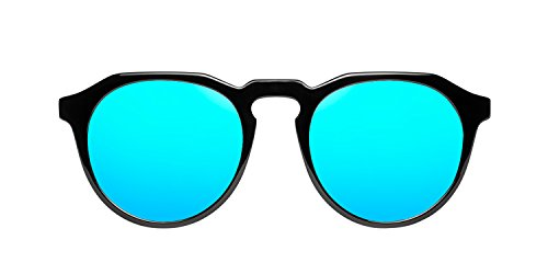 Unisex X Clear Negro Gafas Azul Diamond Sol de Hawkers Blue Black Warwick zqwgWF1T