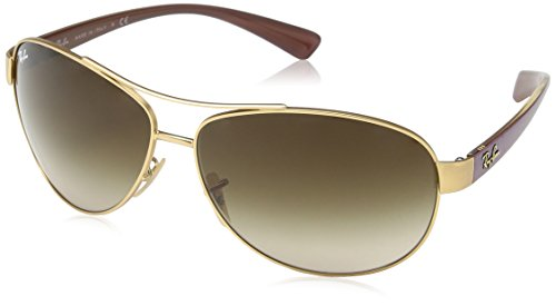 b4b8f8eb9ad ... netherlands ray ban rb3386 sunglasses rb3386 112 13 matte gold gradient  brown 67 13 130 buy ...