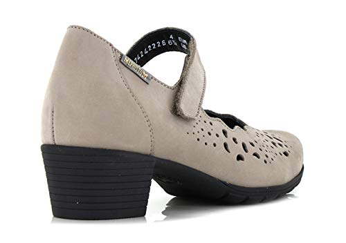 Usa 6960 Eu 37 4 Mephisto Ivora 5 Velcro Warm Con Ita Donna Décolleté Bucksoft 23 Grey Cm 7 Size 5 7 vFwqwYfa