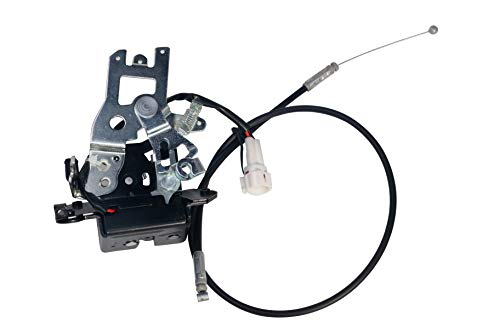 Tailgate Latch Lock Actuator - Fits Toyota Sequoia 2001, 2002, 2003, 2004, 2005, 2006, 2007 - Replaces 69301-0C010, 64680-0C010, 931-861, 693010C010, 646800C010- Integrated Liftgate Latch Assembly