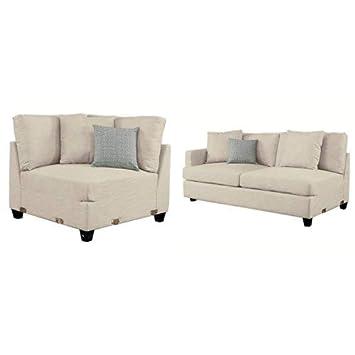 Amazon.com: Homelegance 5-Seater Tela modular seccional ...