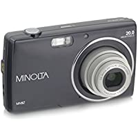 Minolta 20 Mega Pixels Digital Camera, 5x Optical Zoom & HD Video with 2.7 LCD, Black (MN5Z-BK)