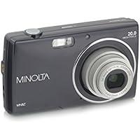 Minolta 20 Mega Pixels Digital Camera, 5x Optical Zoom & HD Video with 2.7 LCD, Black (MN5Z-BK)