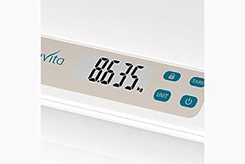 Nuvita 1310 PRIMI PESI Báscula Digital para Bebé – Balanza con Pantalla LCD y Tallimetro -