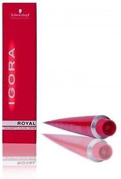 Igora Royal - Tinte rubio platino 9, 5-67: Amazon.es: Salud y ...